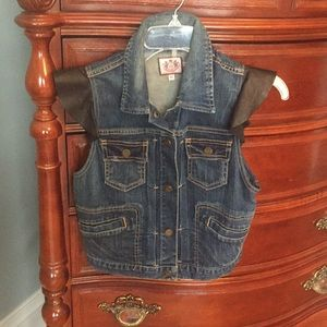 Juicy Couture Denim Vest